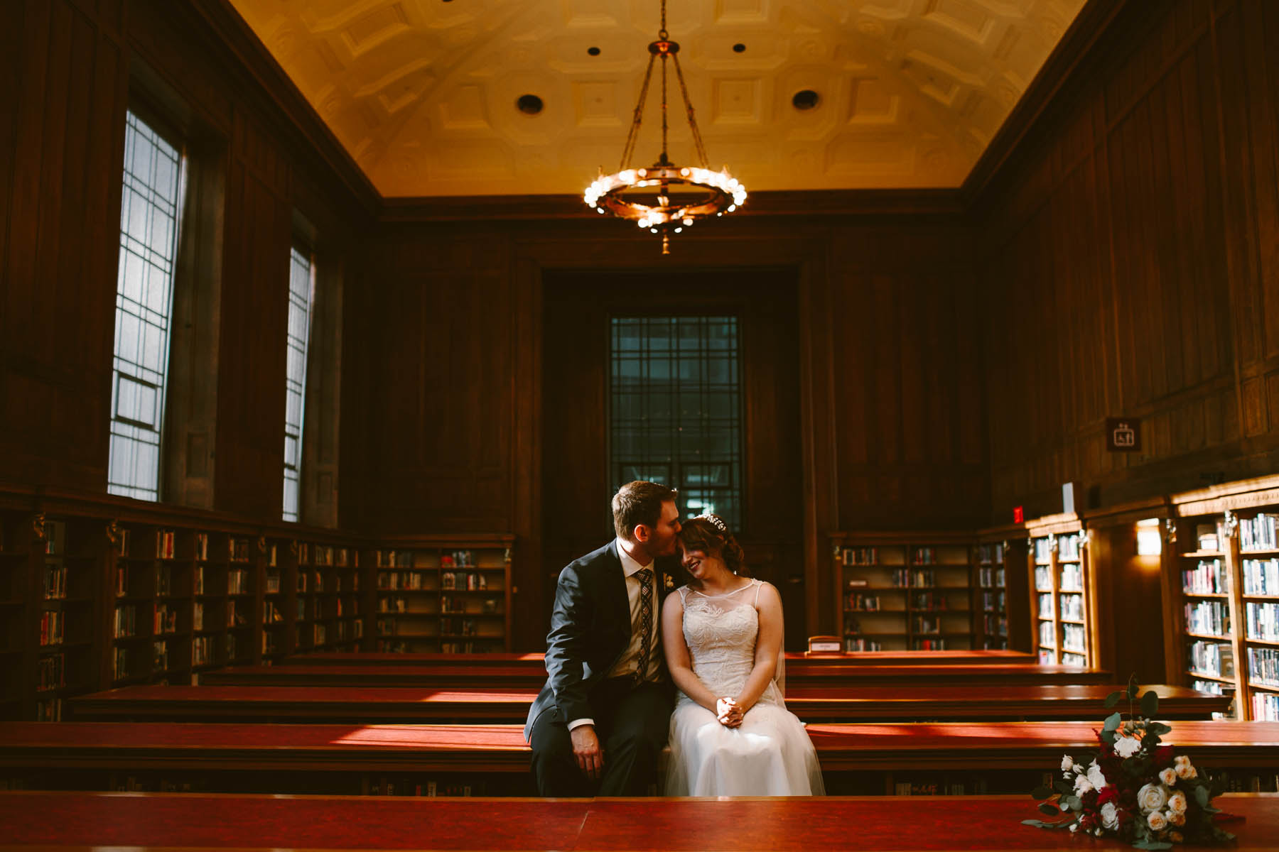 Public Library Wedding