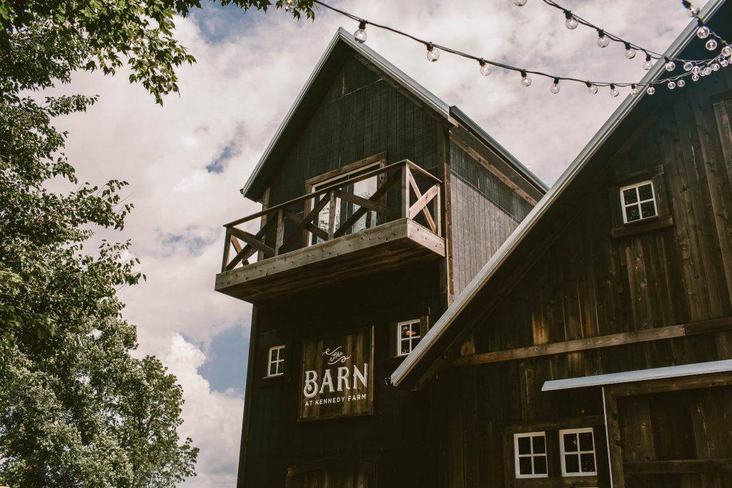 The Barn at Kennedy Farm Wedding