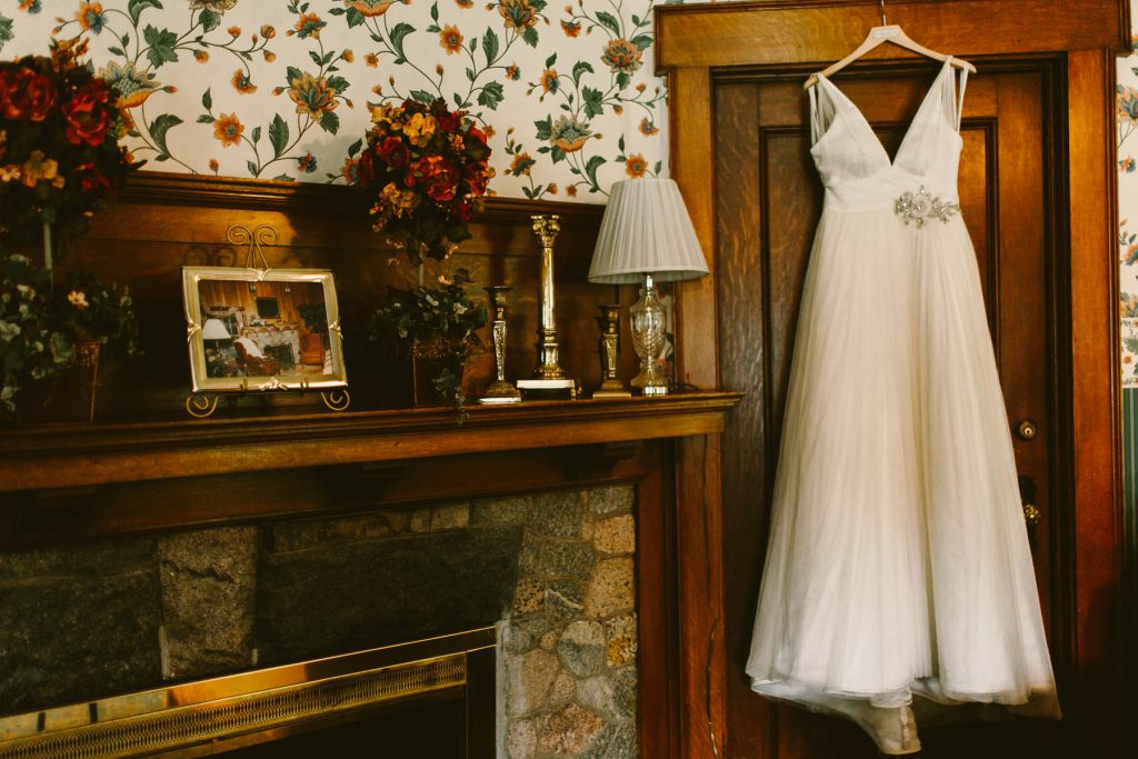 The Homestead 1835 New Carlisle Wedding
