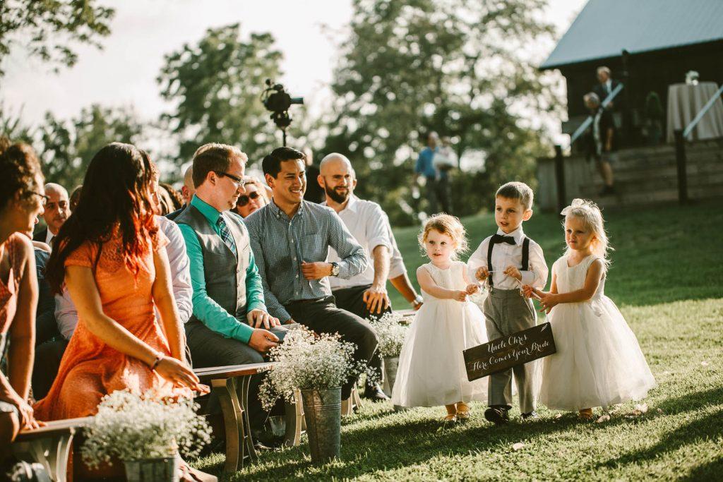 The Barn at Kennedy Farms Wedding